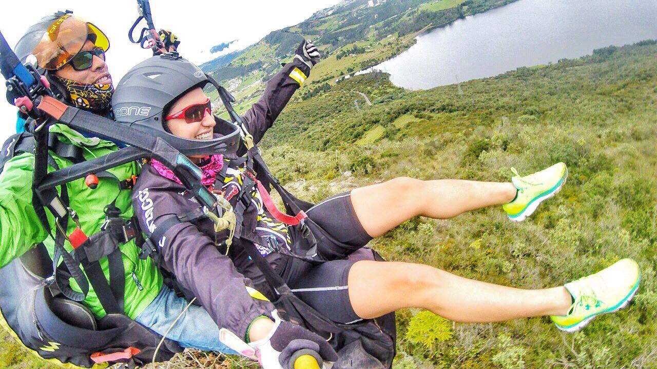 Coldeportes levantó la suspensión de vuelos en parapente en Colombia